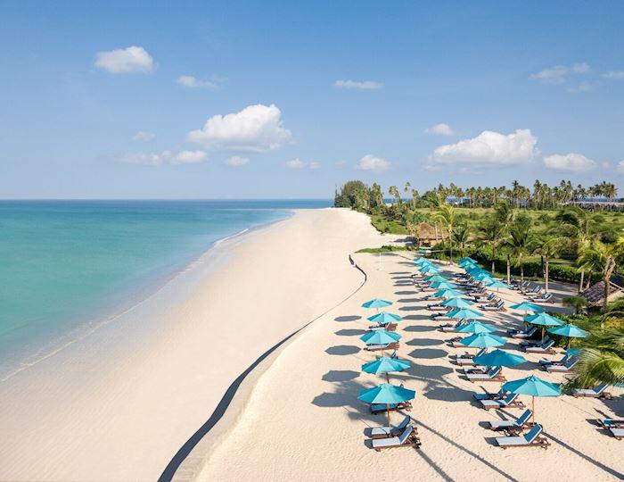 bangsak beach in khao lak